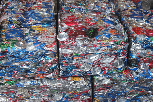 George West Aluminum Can Recycling