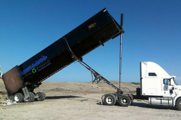 Port Aransas Disposal Truck