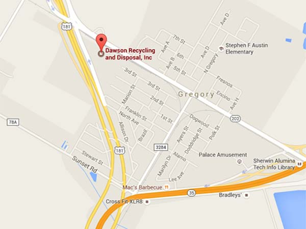 Dawson Recycling Location