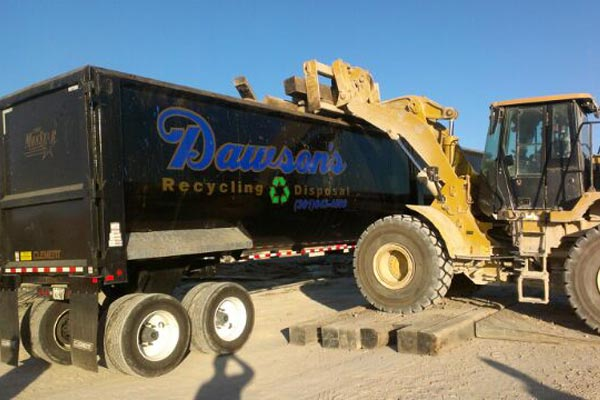 Aransas Pass Recycling Truck